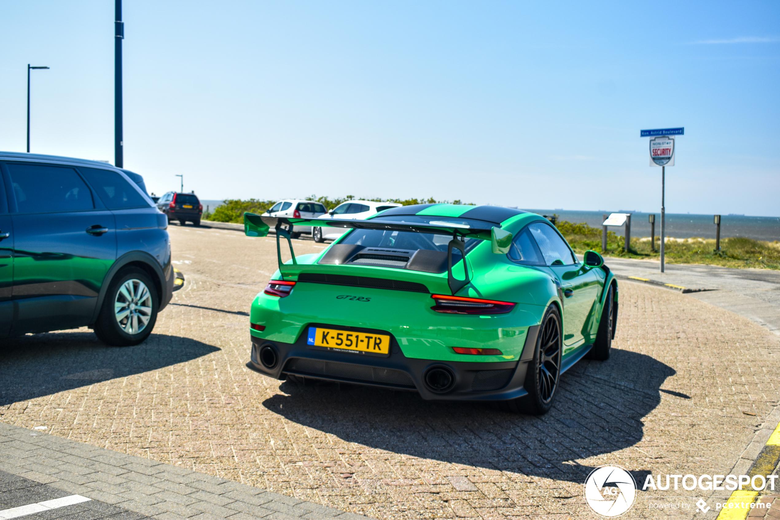 Nederland is weer prachtige Porsche 991 GT2 RS rijker