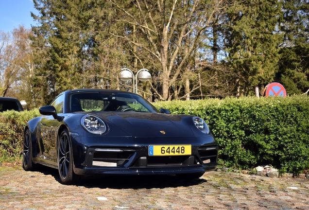Porsche 992 Carrera 4S Belgian Legend Edition
