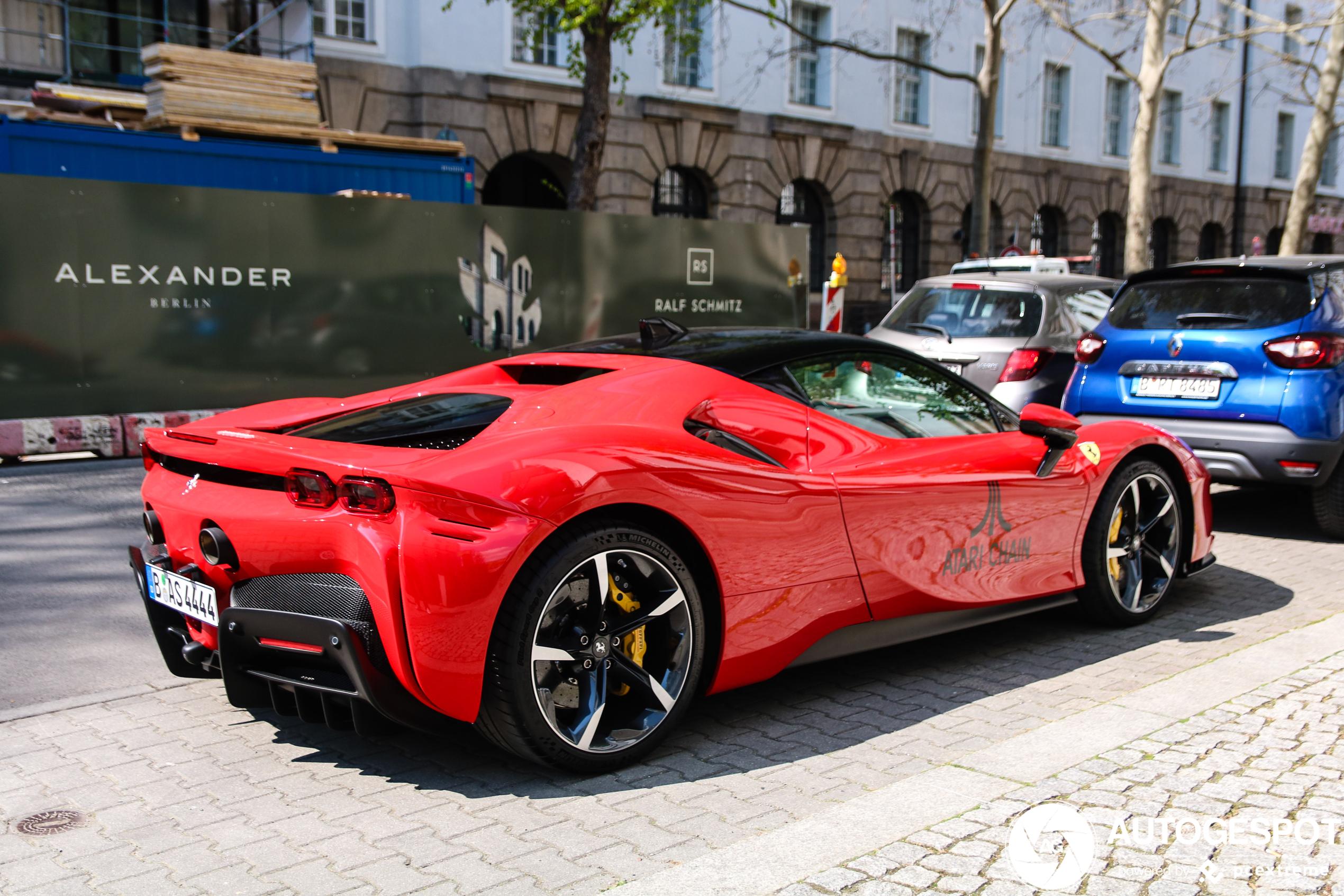 Ferrari SF90 Stradale blijft indrukwekkend