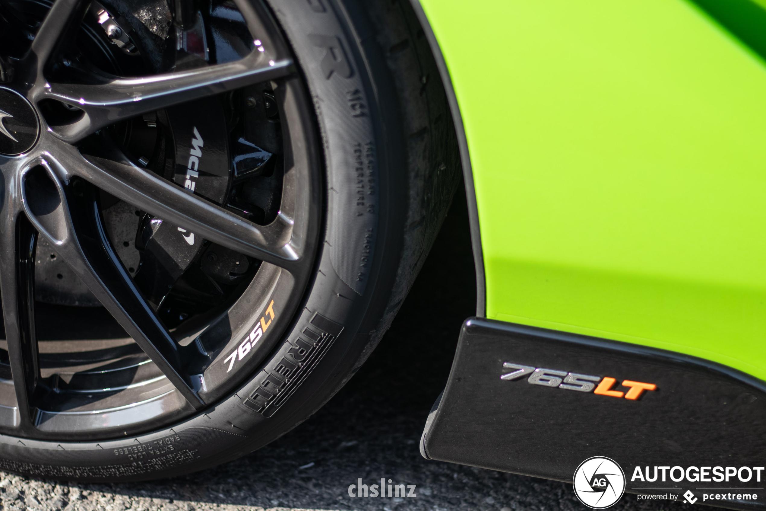 McLaren 765LT is in goed gezelschap