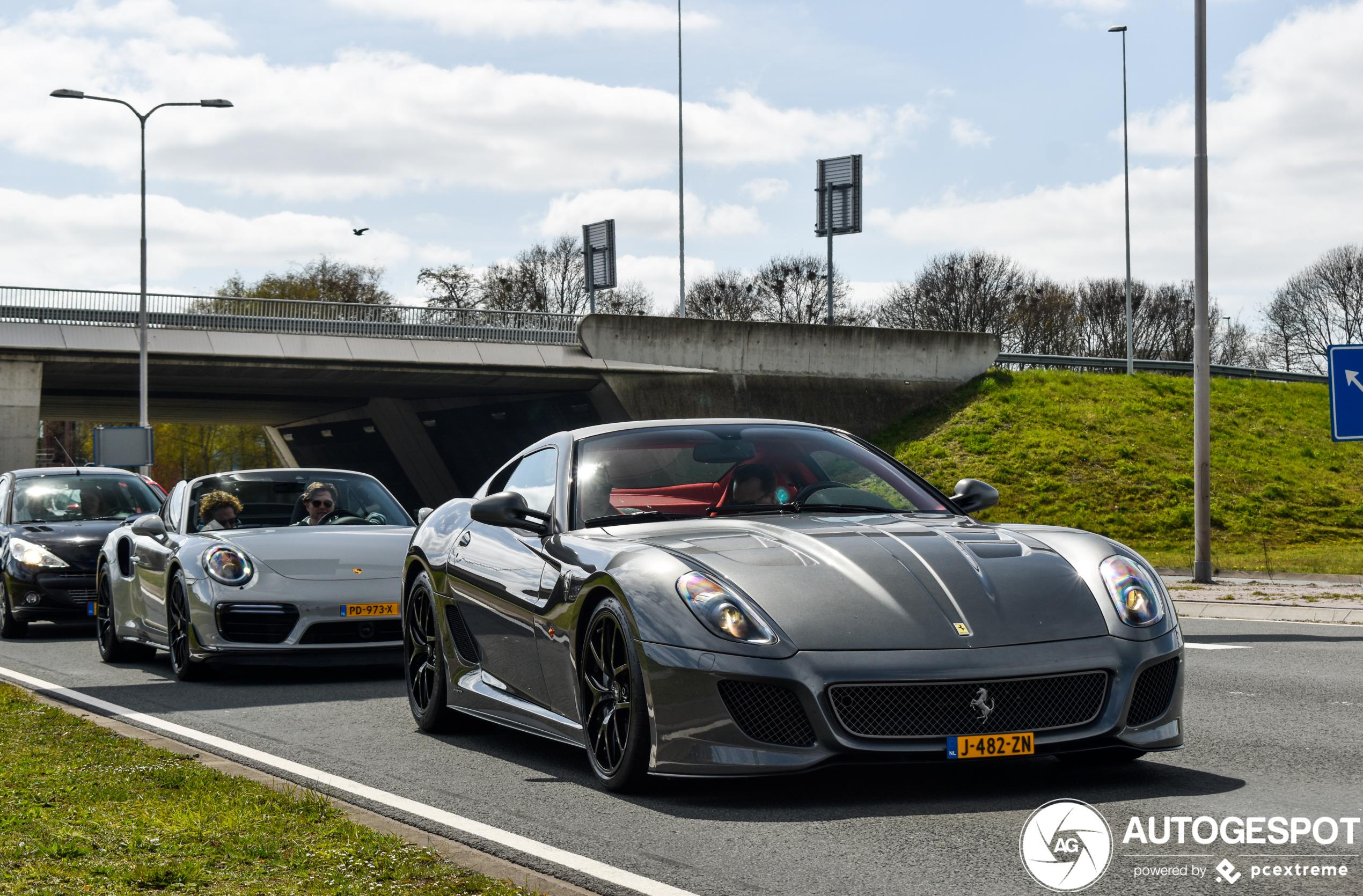 Nederland weer voorzien van een nieuwe Ferrari 599 GTO