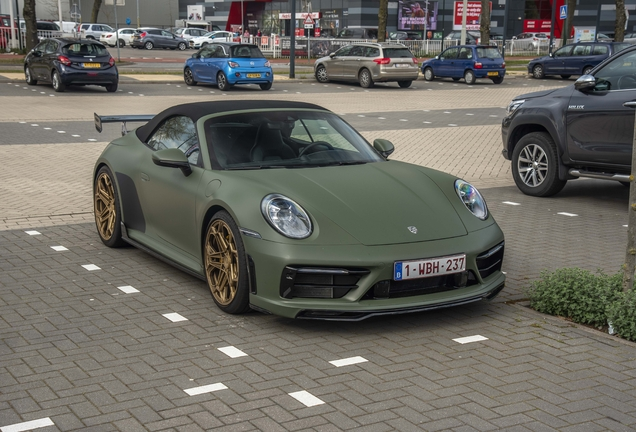 Porsche 992 Techart Carrera 4S Cabriolet
