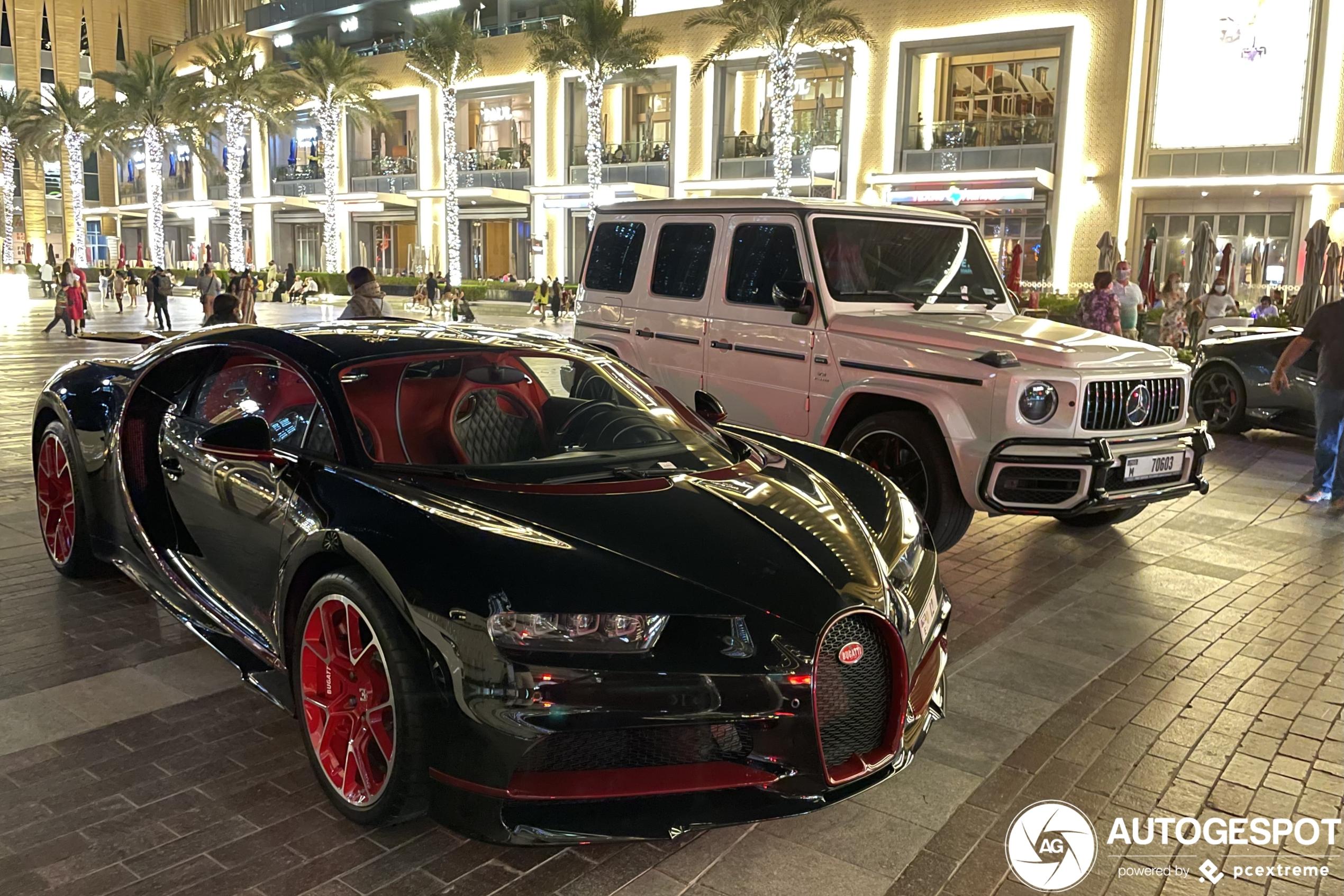 Vier nieuwe Bugatti Chirons in een week tijd