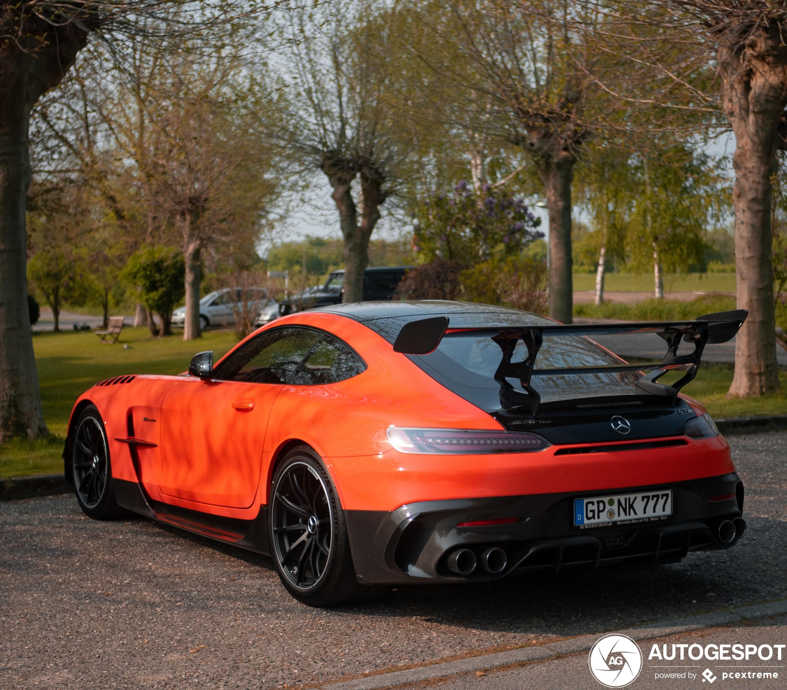 Mercedes-AMG GT Black Series komt op stoom