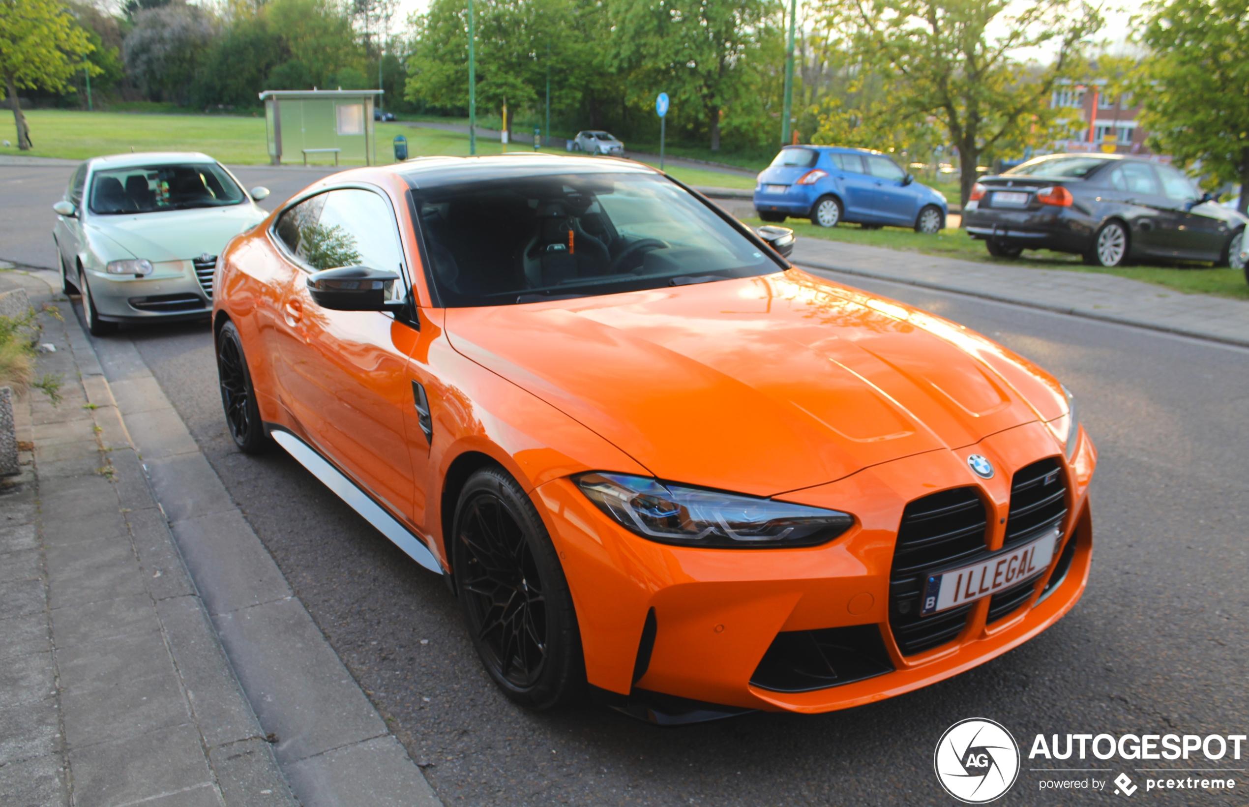 BMW M4 Coupé Competition is zwaar illegaal