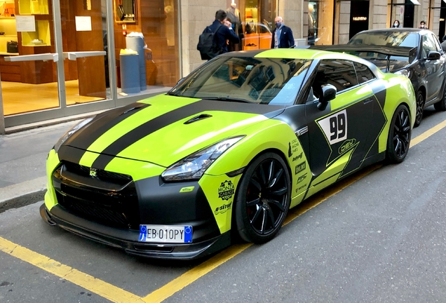 Nissan GT-R AMS Performance Alpha 12