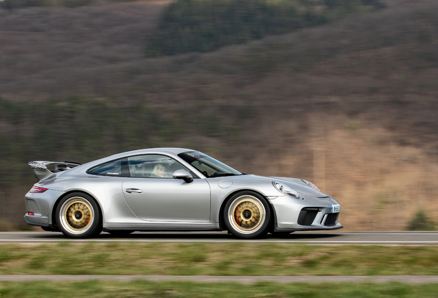 Porsche 991 GT3 MKII Breizh Motorsport