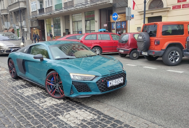 Audi R8 V10 Performance 2019 Green Hell Edition