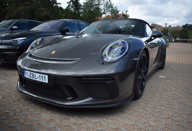 Porsche 991 Speedster