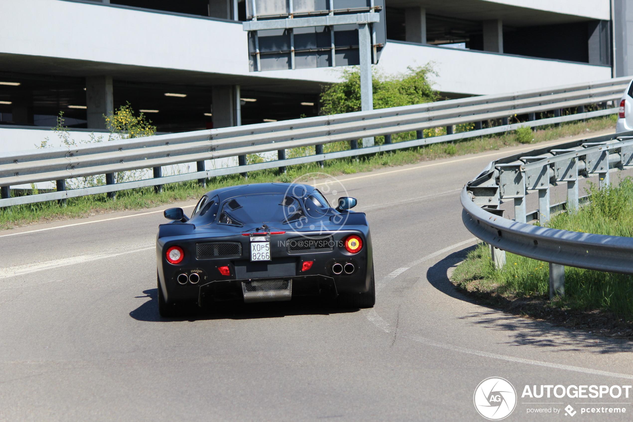 Ferrari stoft oude mule af voor nieuw project
