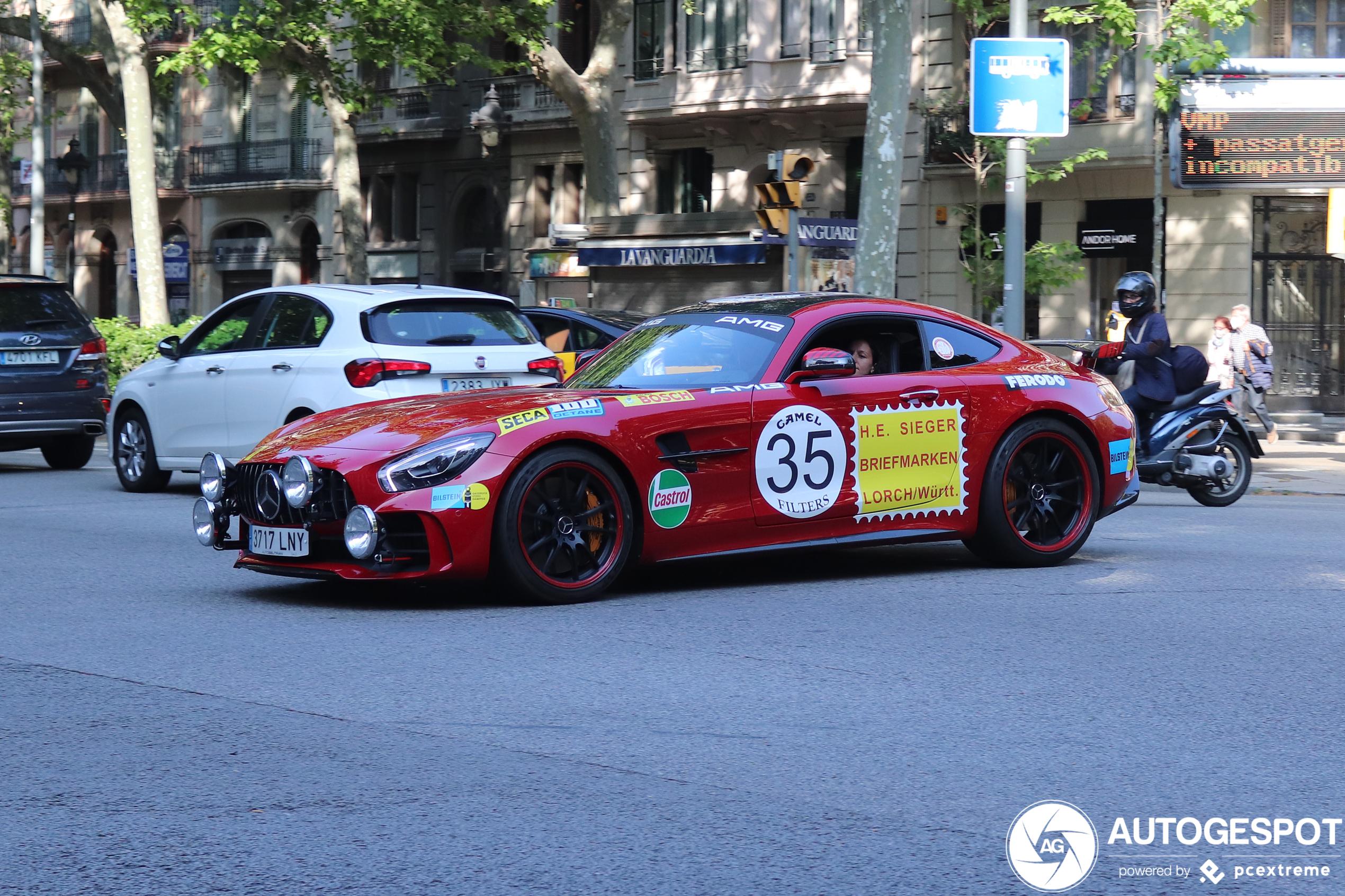 Mercedes-AMGGT R C190 Rote Sau