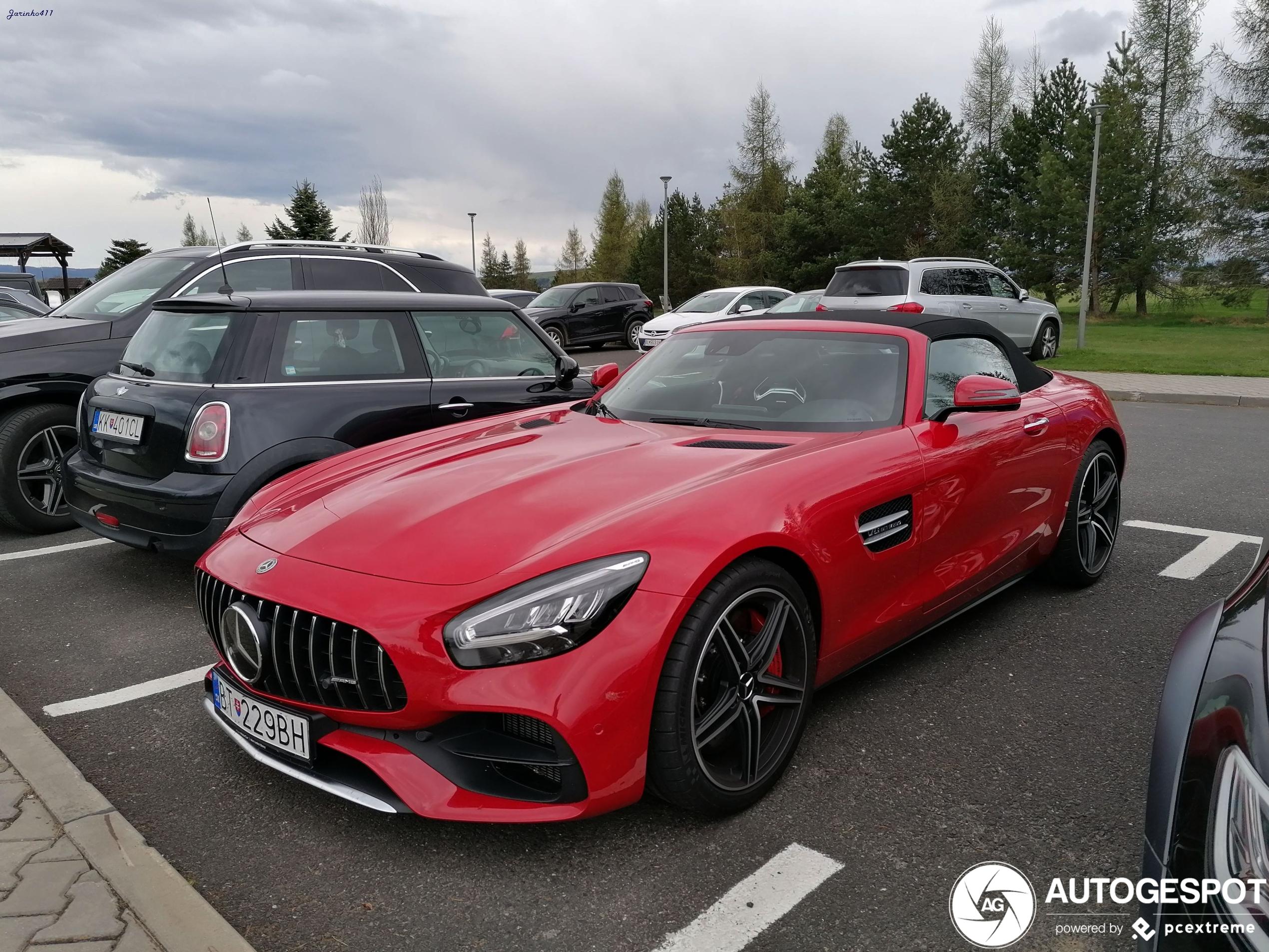 Mercedes-AMGGT Roadster R190 2019