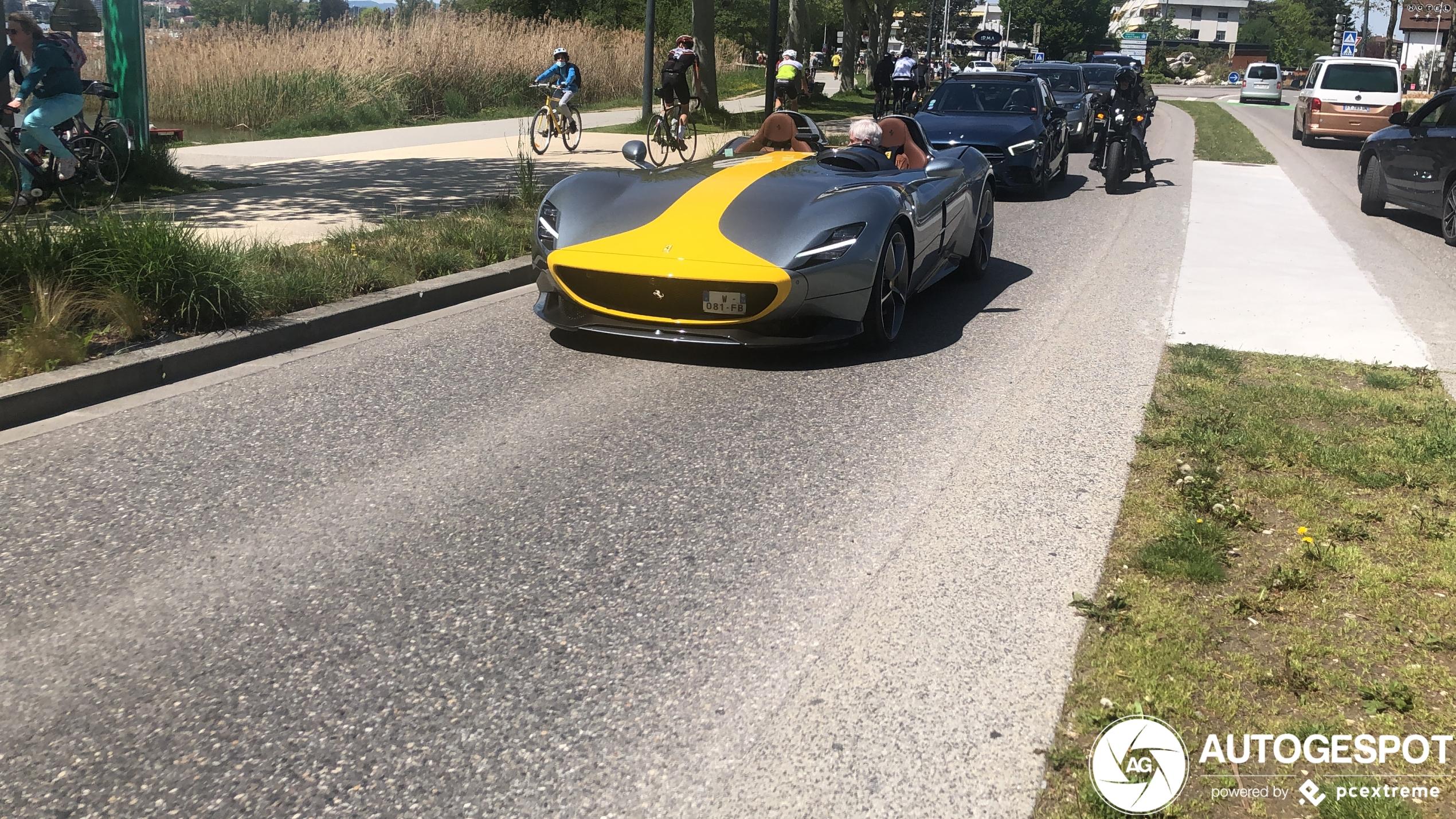 Annecy laat weer van zich horen met deze Ferrari Monza SP2