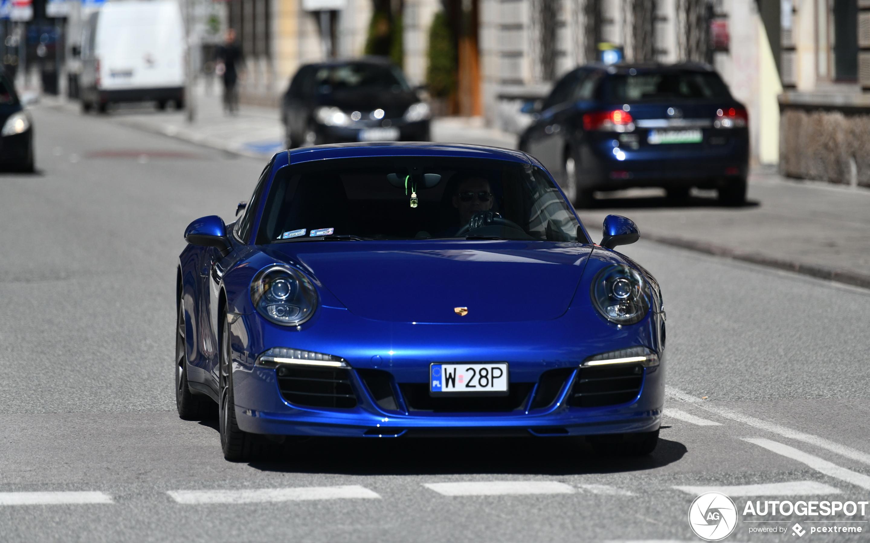 Porsche 991 Techart Carrera 4S