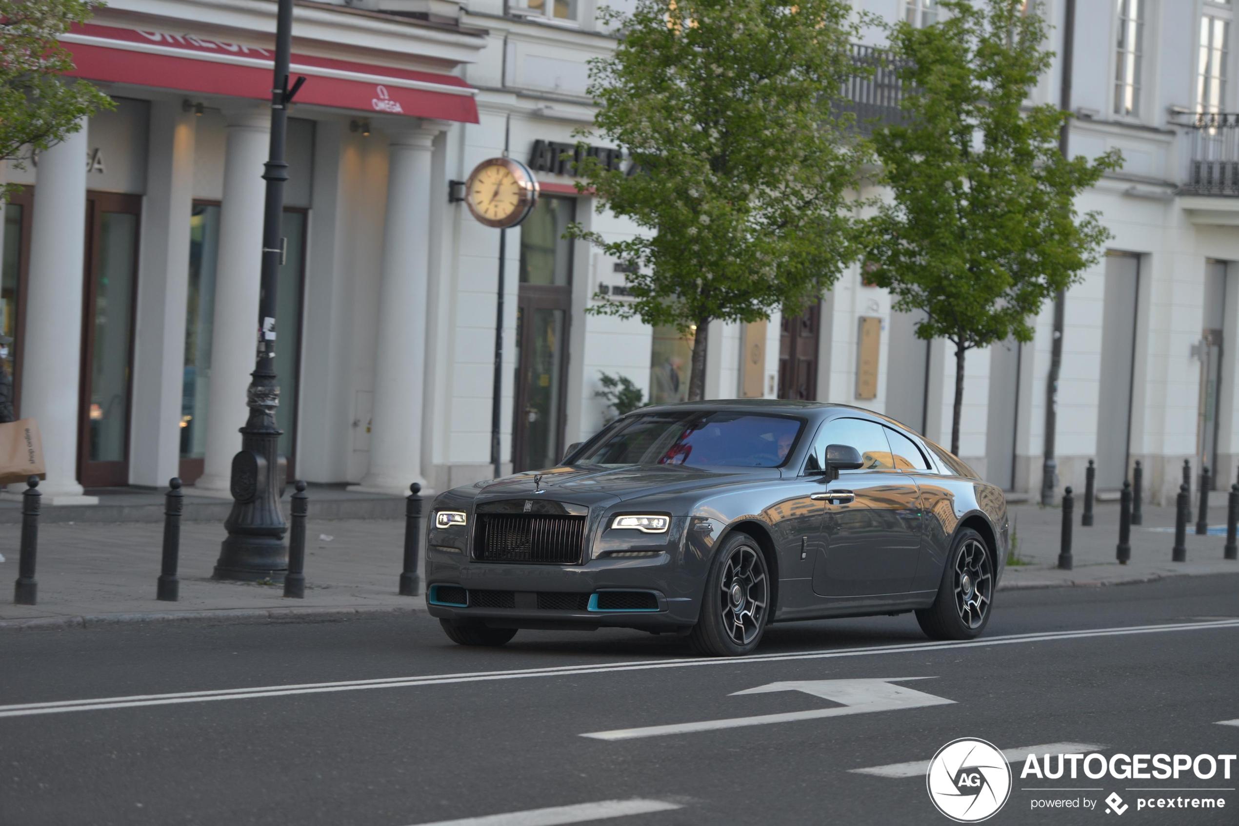 Rolls-Royce Wraith Kryptos Collection geeft licht in het donker