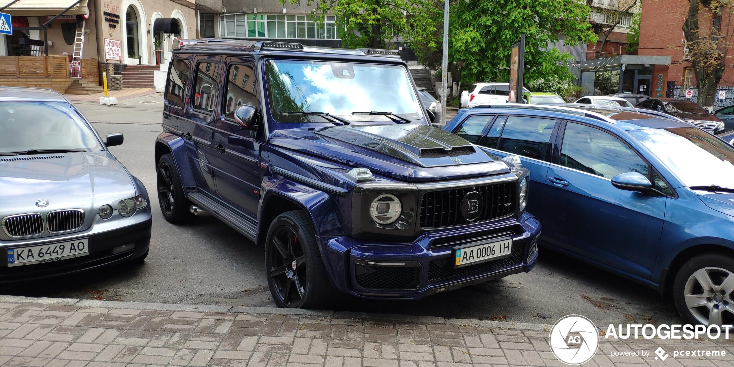 Mercedes-AMGBrabus G B40S-800 Widestar W463 2018