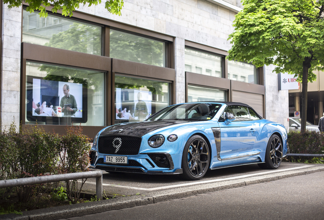 Bentley Mansory Continental GTC 2019