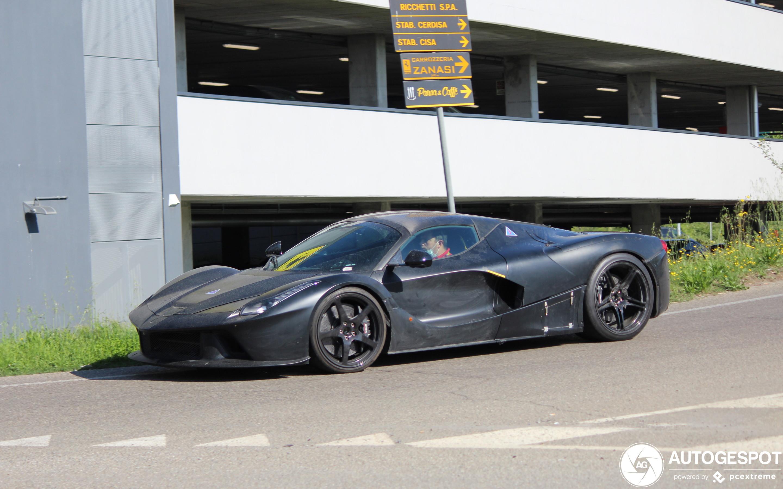 Ferrari LaFerrari Aperta 2023 Mule