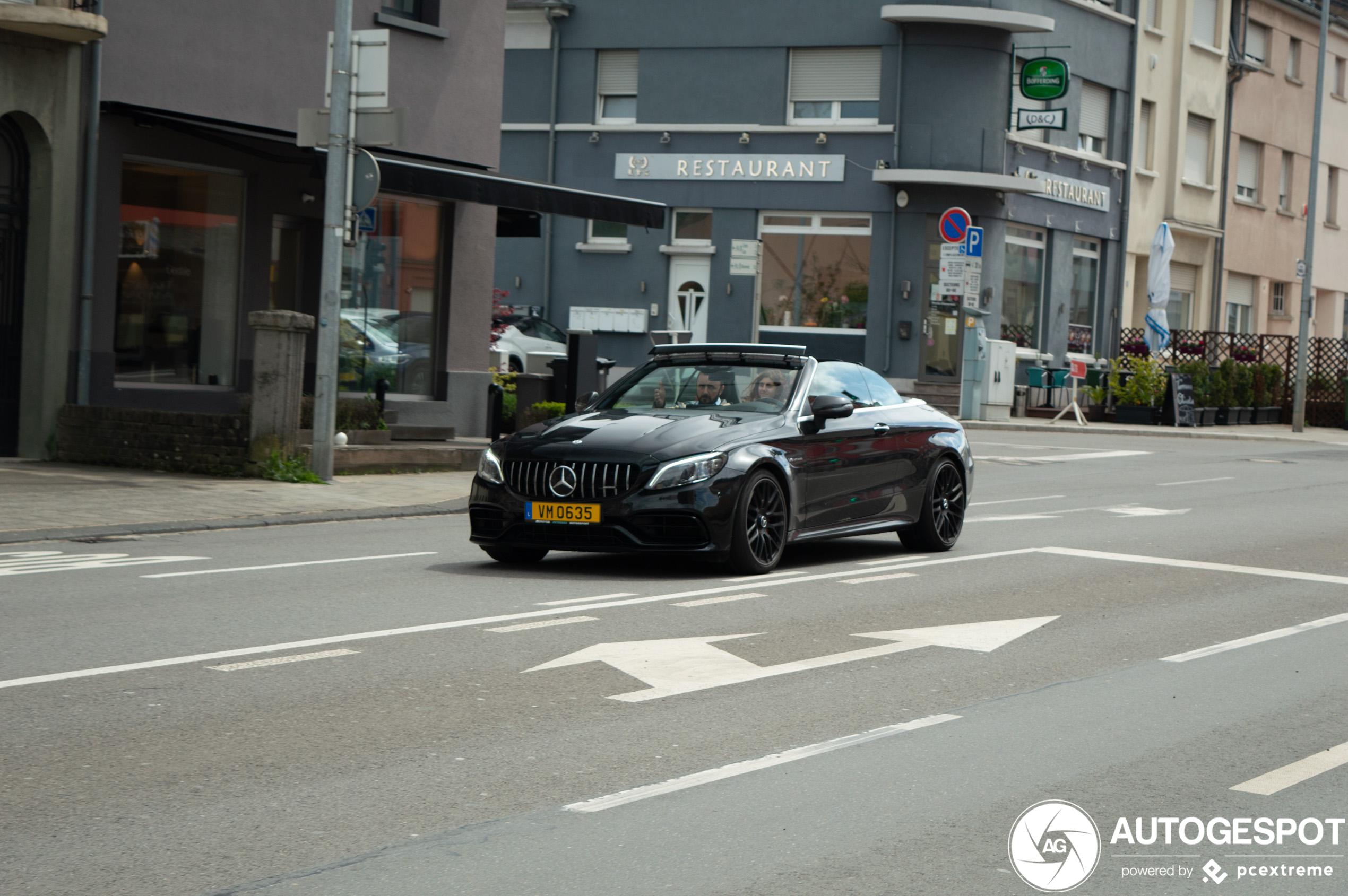 Mercedes-AMG C 63 S Convertible A205 2018