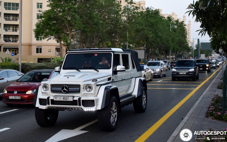 Mercedes-Maybach Brabus G 650 Landaulet W463