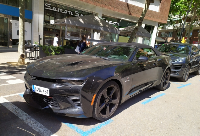 Chevrolet Camaro SS Convertible 2016 50th Anniversary