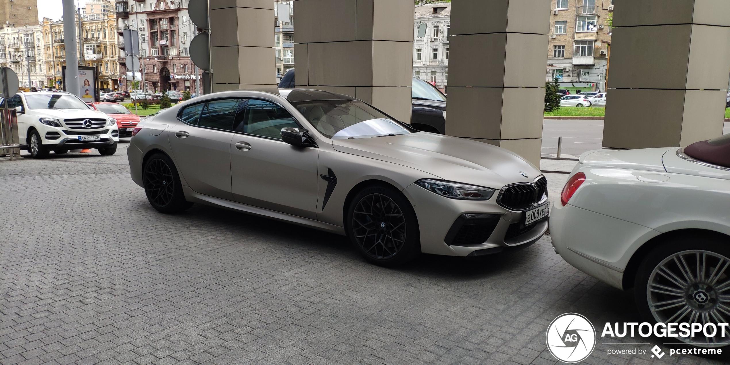 BMWM8 F93 Gran Coupé Competition