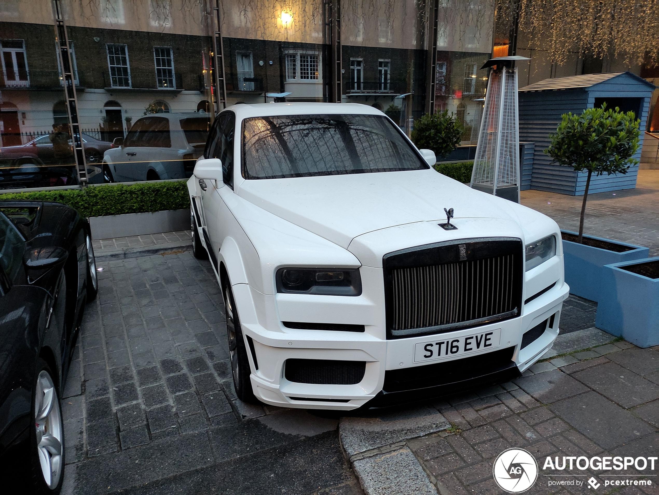 Rolls-RoyceCullinan Black Badge Spofec Overdose