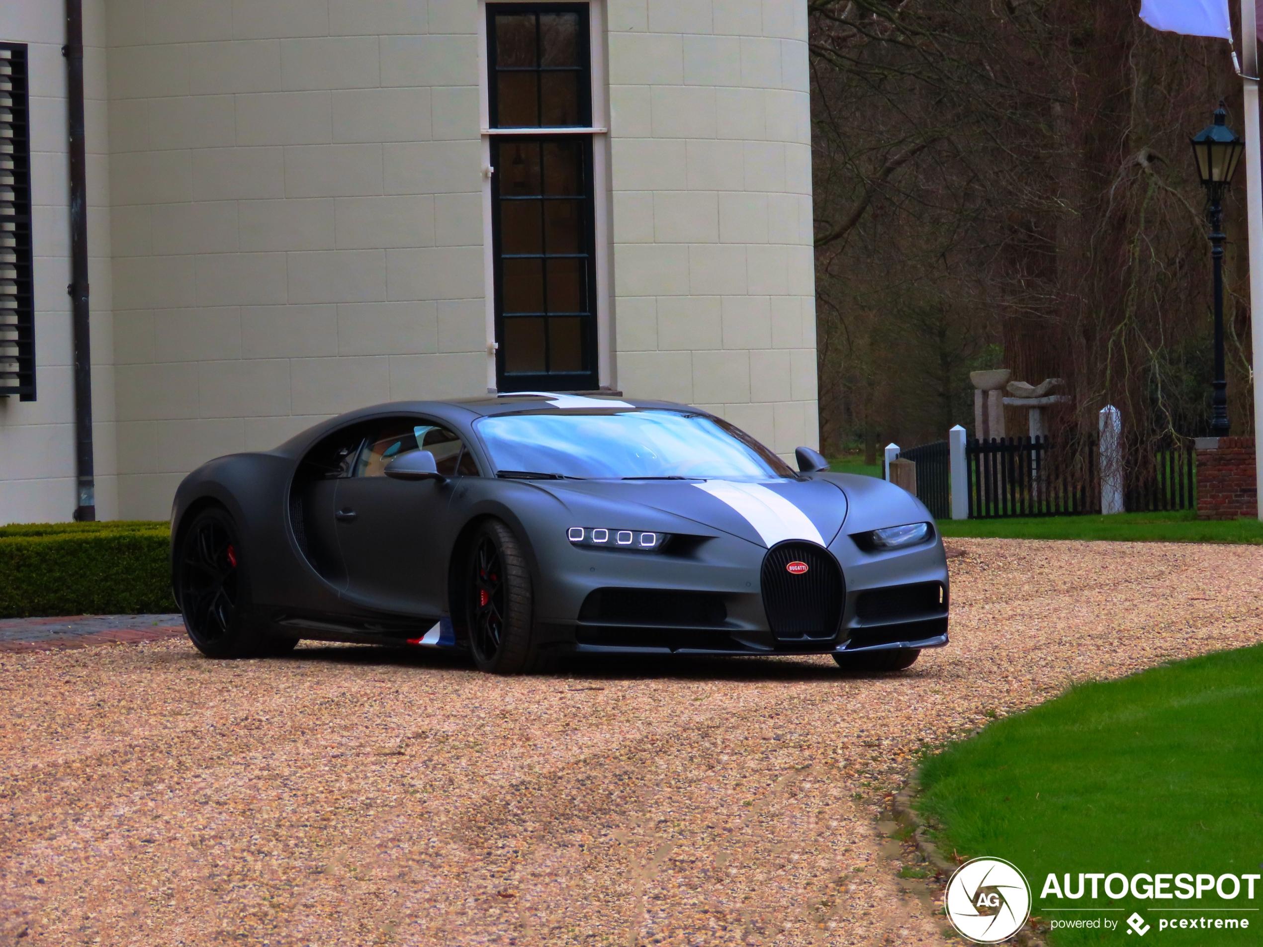 BugattiChiron Sport Les Légendes du Ciel
