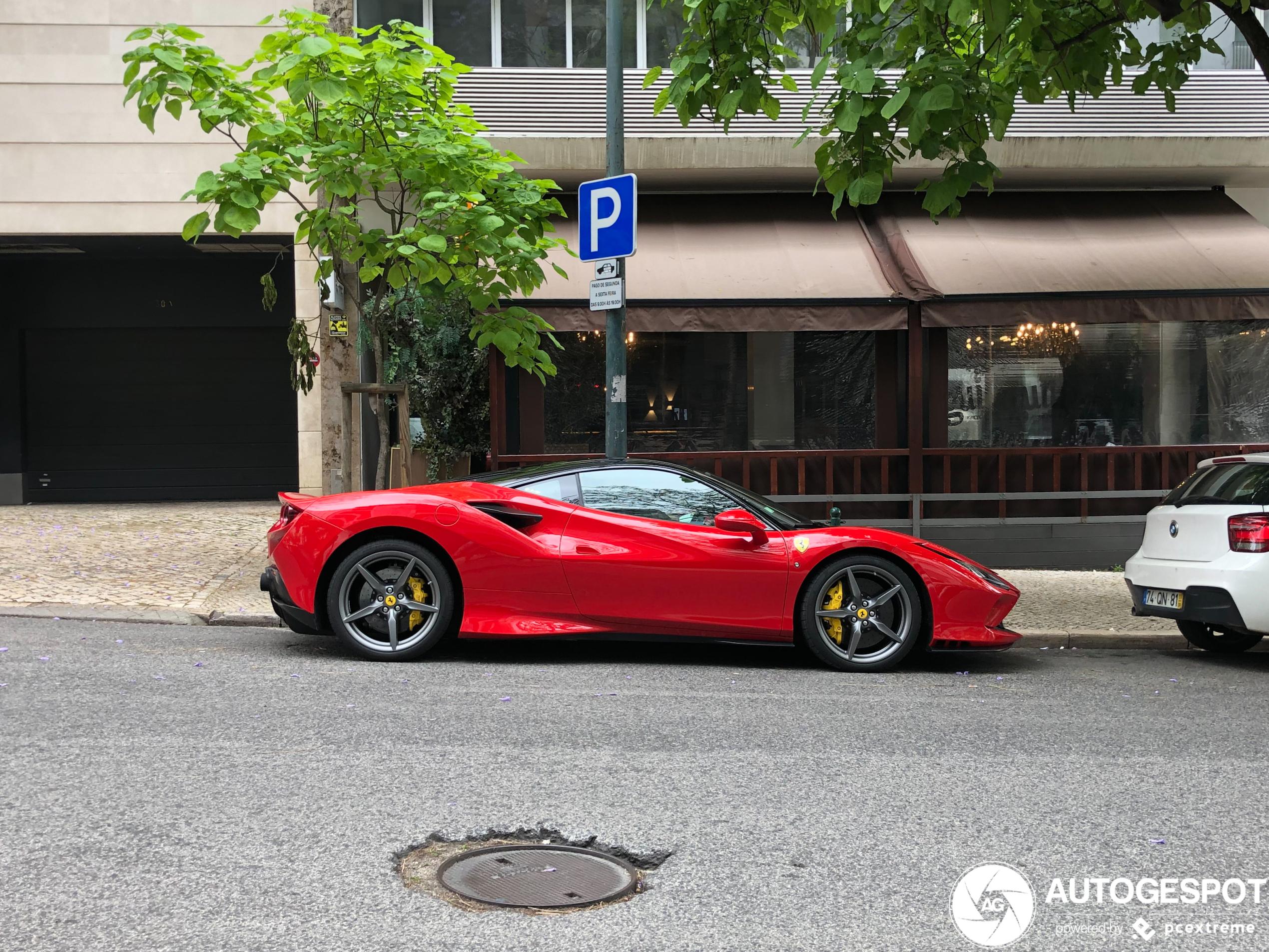 FerrariF8 Tributo