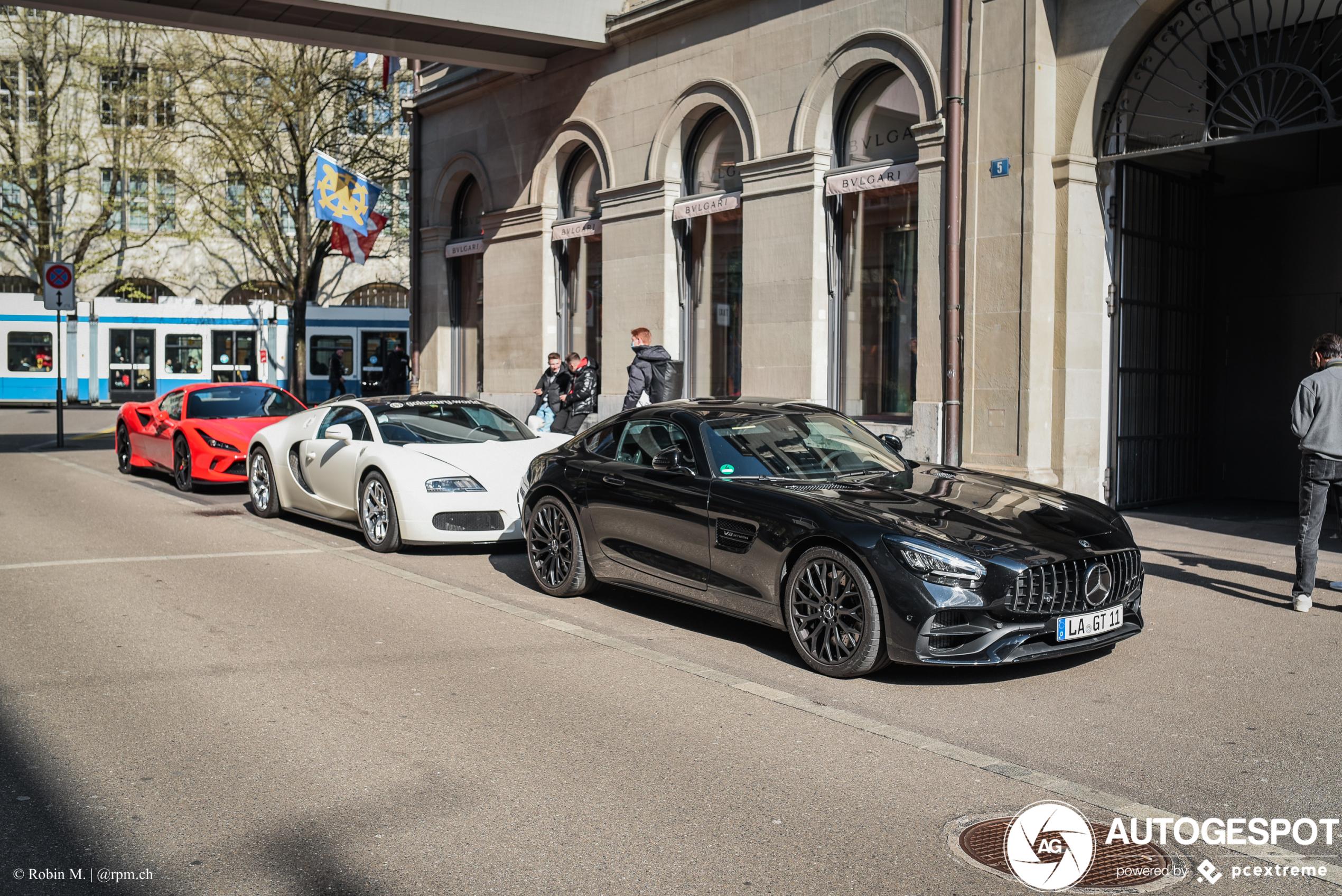 Mercedes-AMGGT S C190 2019
