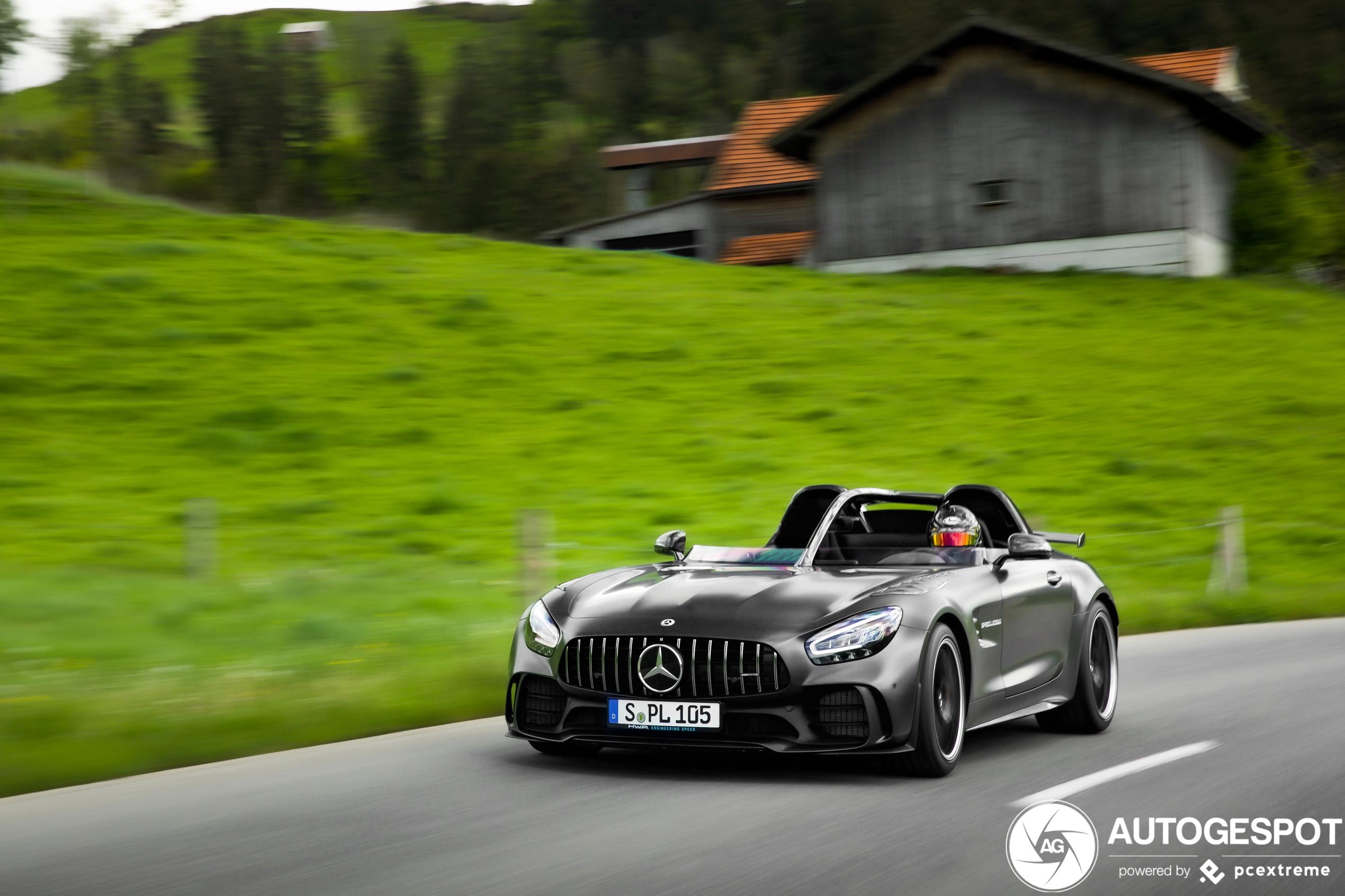 Mercedes-AMG GT R Speedlegend is modern interpretation of SLR Stirling Moss