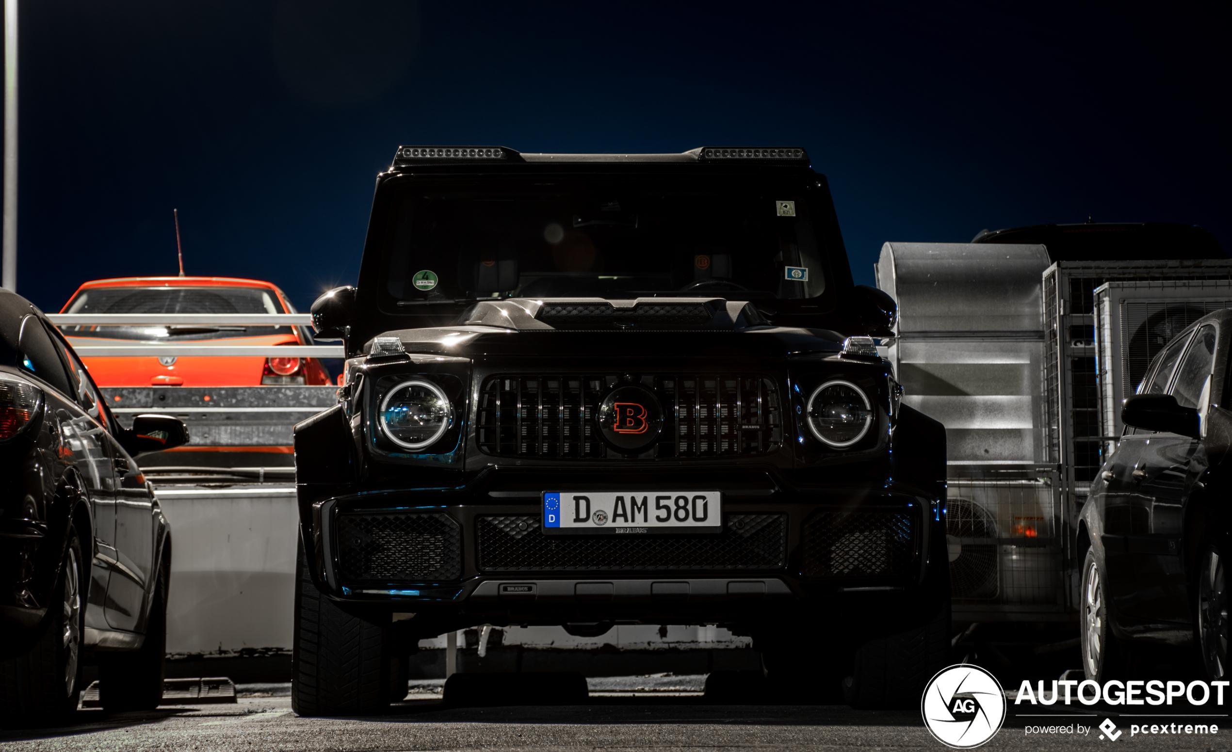 Mercedes-AMG Brabus G B40S-800 Widestar W463 2018