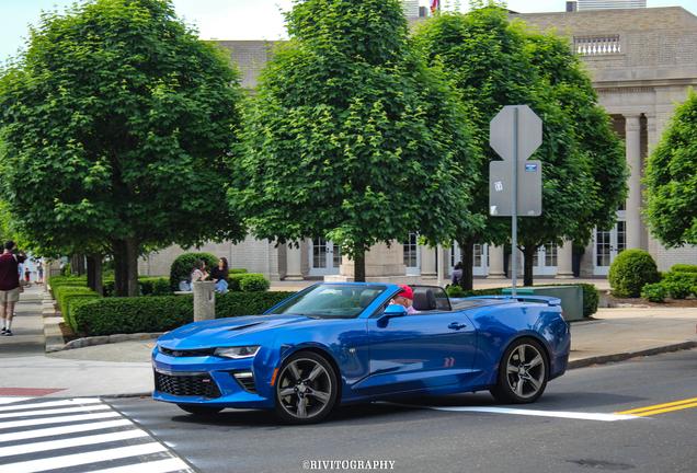 Chevrolet Camaro SS Convertible 2016