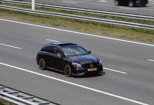 Mercedes-AMG CLA 45 Shooting Brake X117 Yellow Night Edition