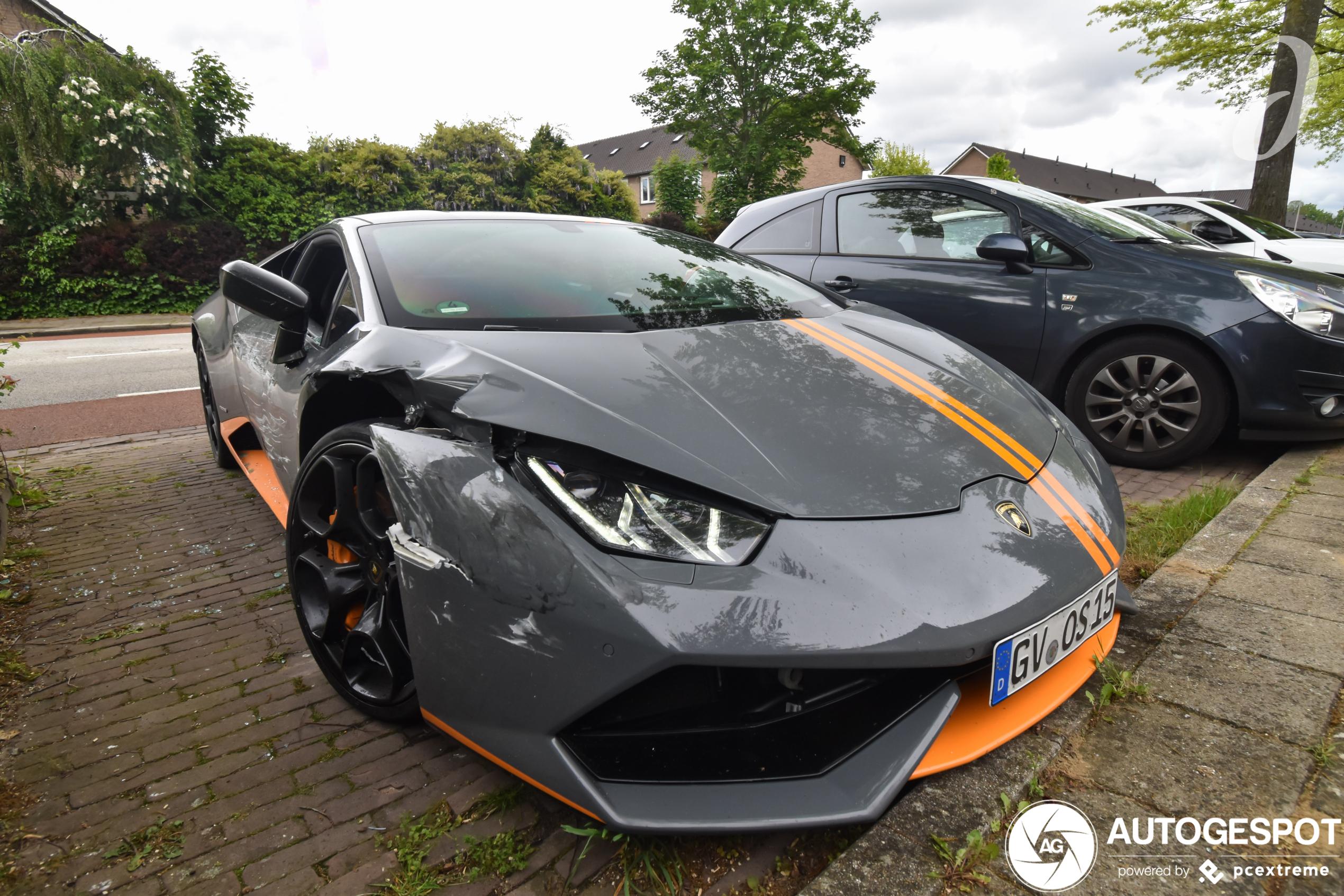 Lamborghini's worden met enorme kater wakker na trouwerij