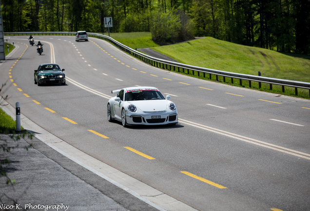 Porsche Manthey Racing 991 GT3 MR