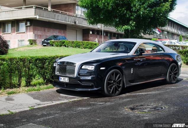 Rolls-Royce Wraith Ares Design