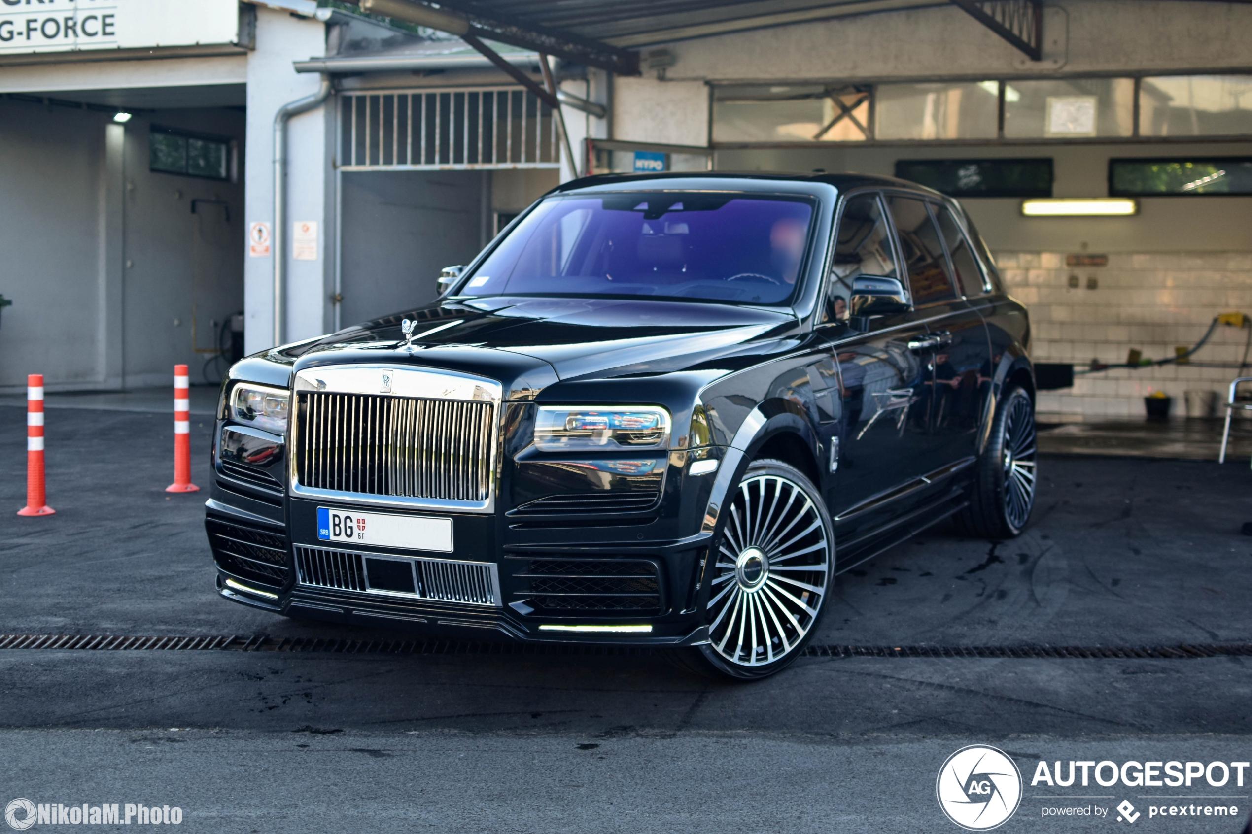Mansory bodykit maakt de Rolls-Royce Cullinan ordinair