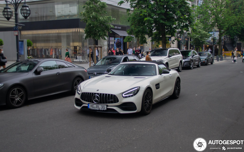 Mercedes-AMG GT Roadster R190 2019