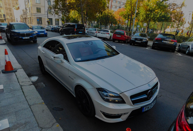 Mercedes-Benz CLS 63 AMG S C218