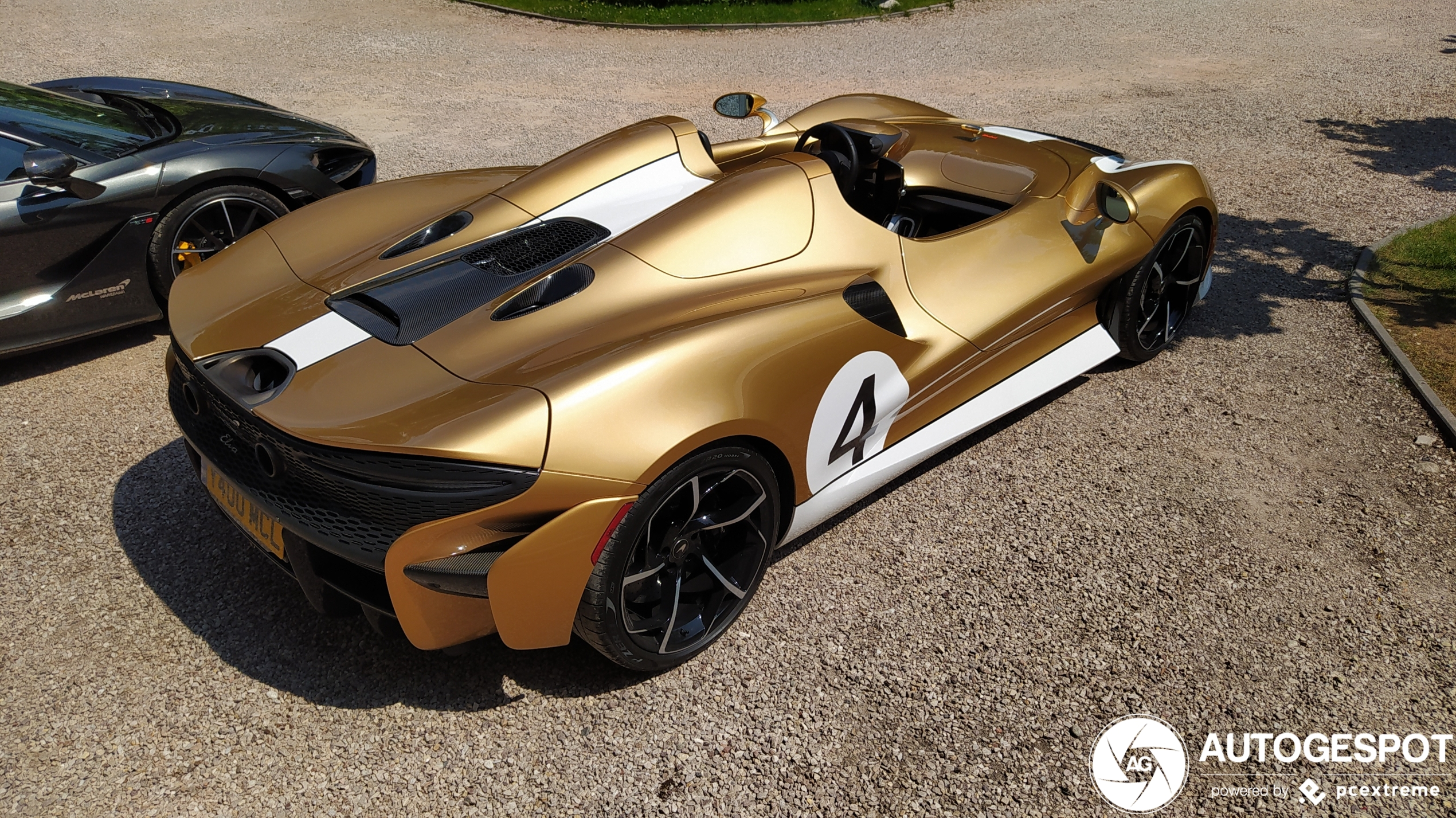 Gold! McLaren Elva pays tribute to Bruce McLaren's Can-Am