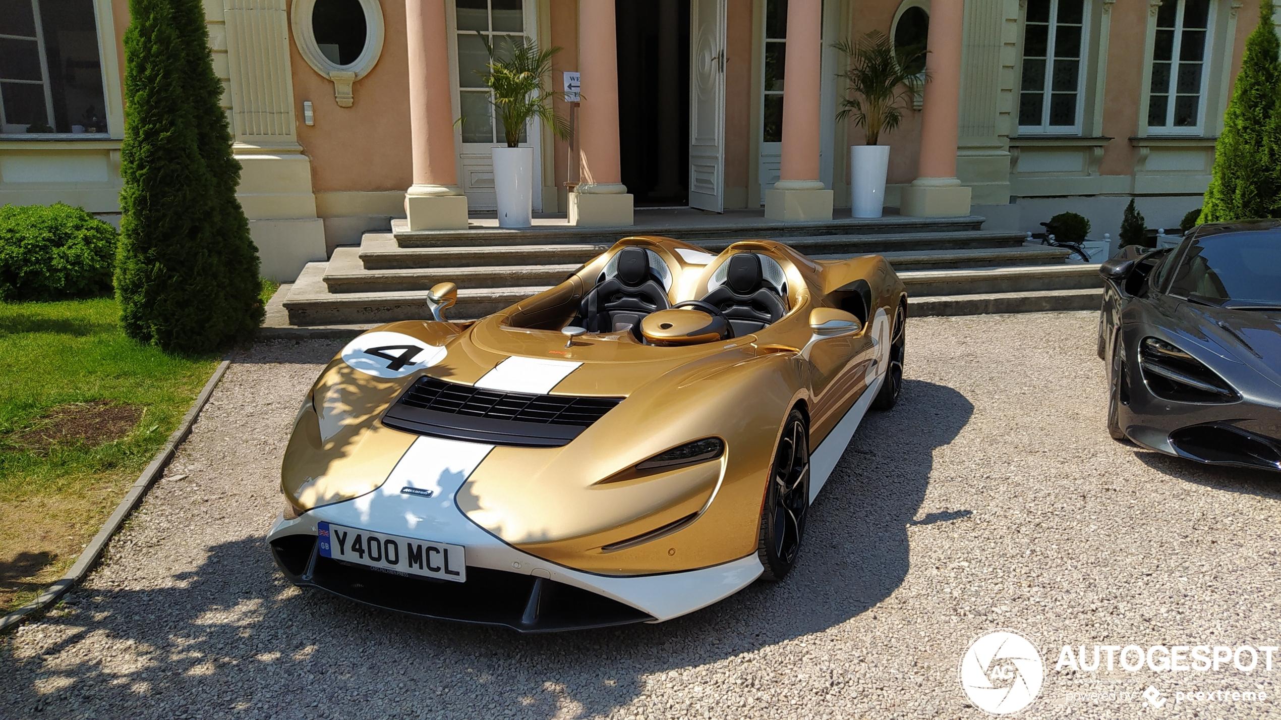 Goud! McLaren Elva brengt ode aan Bruce McLaren's Can-Am