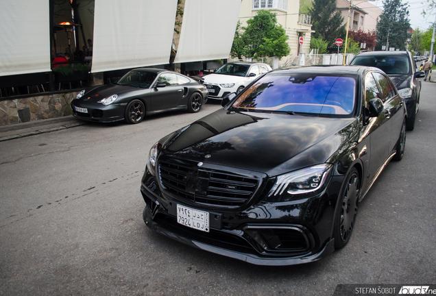Mercedes-AMG Brabus 900 Rocket V222 2017