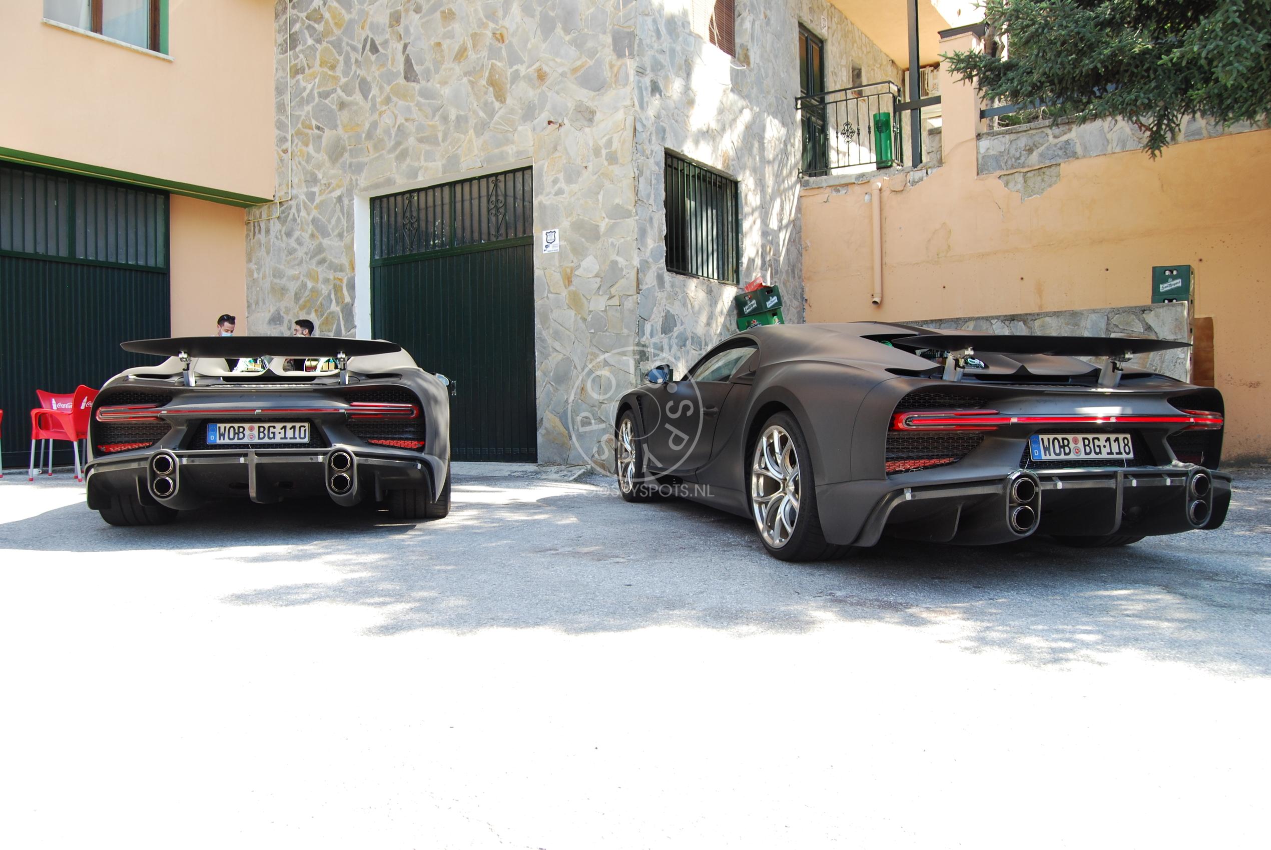 Combo van ubersnelle Bugatti Chiron Super Sport 300+