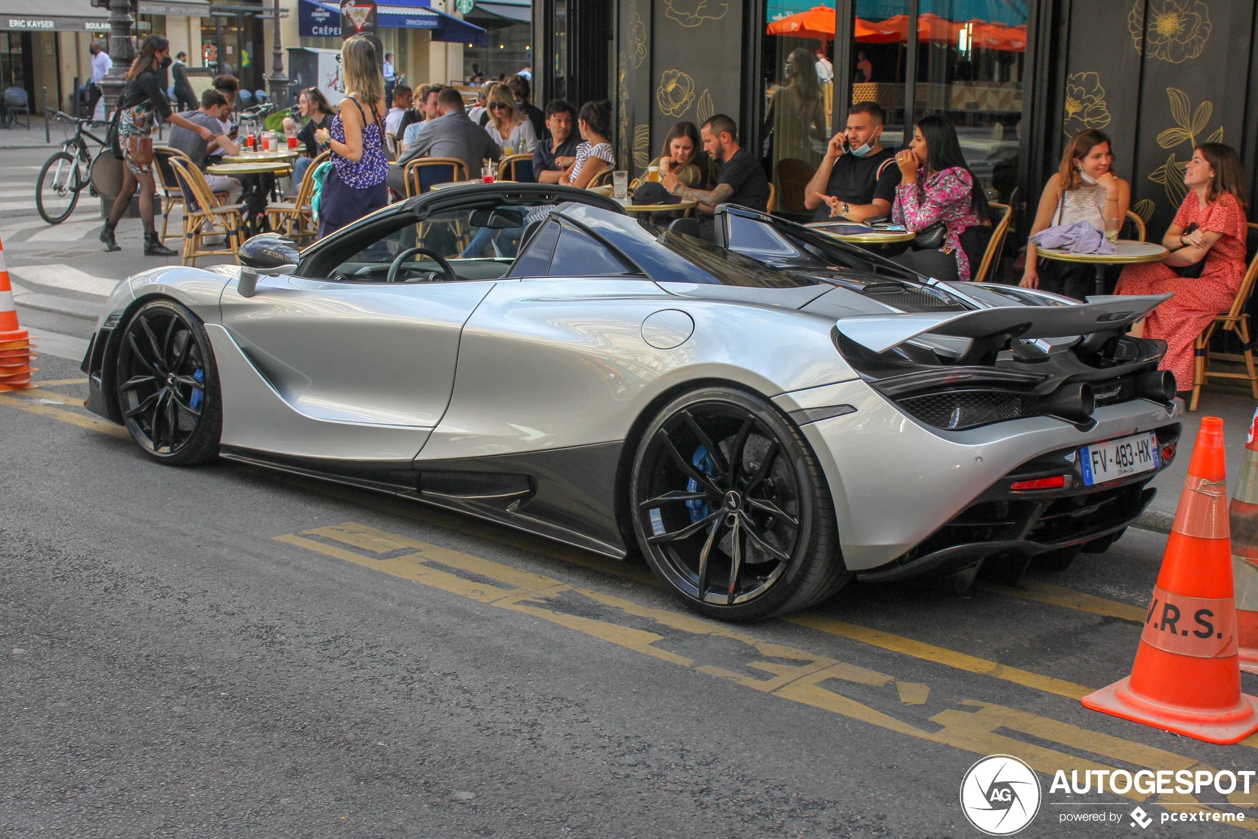 McLaren720S Spider Novitec