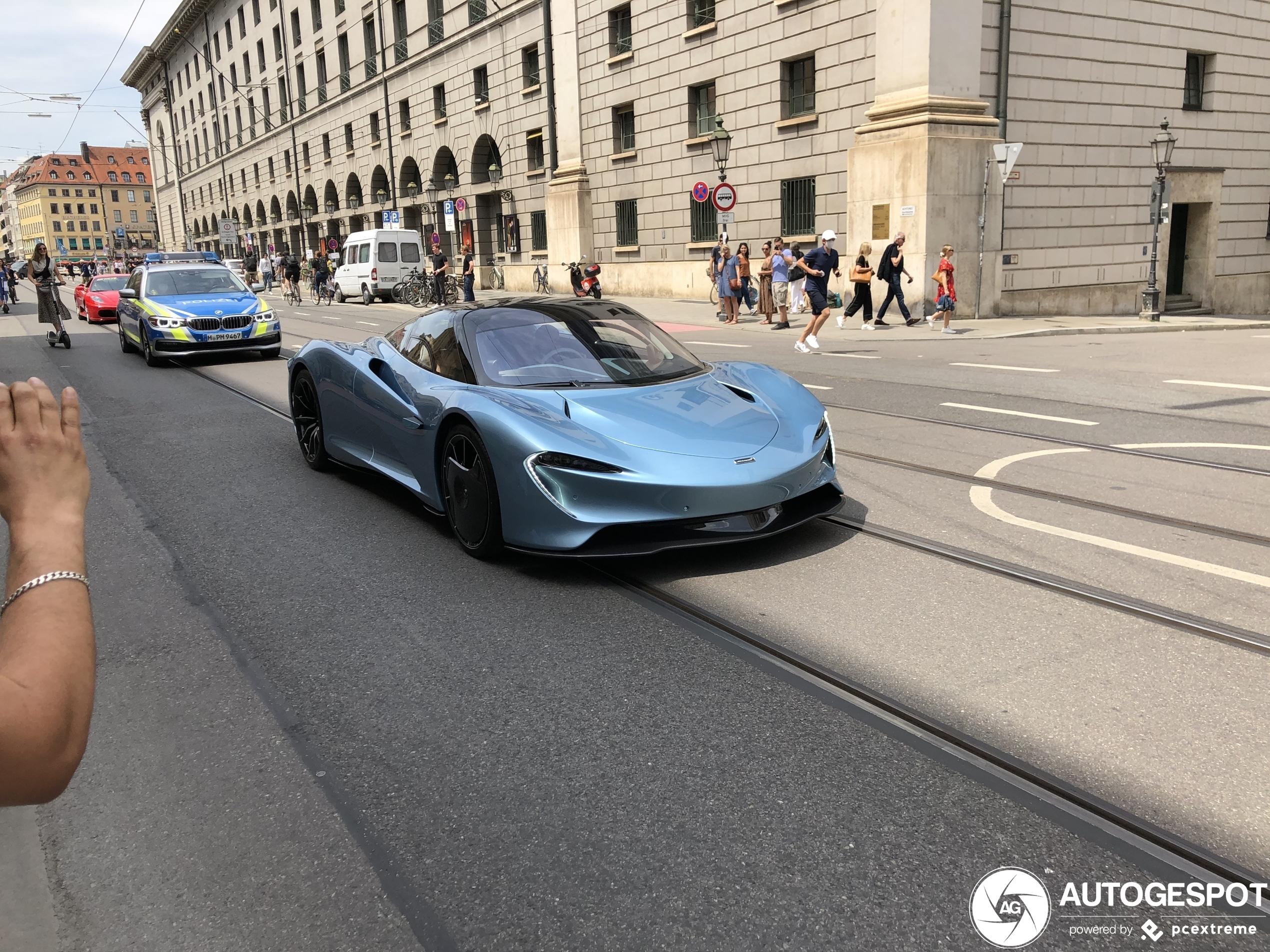 McLaren Speedtail verbluft München