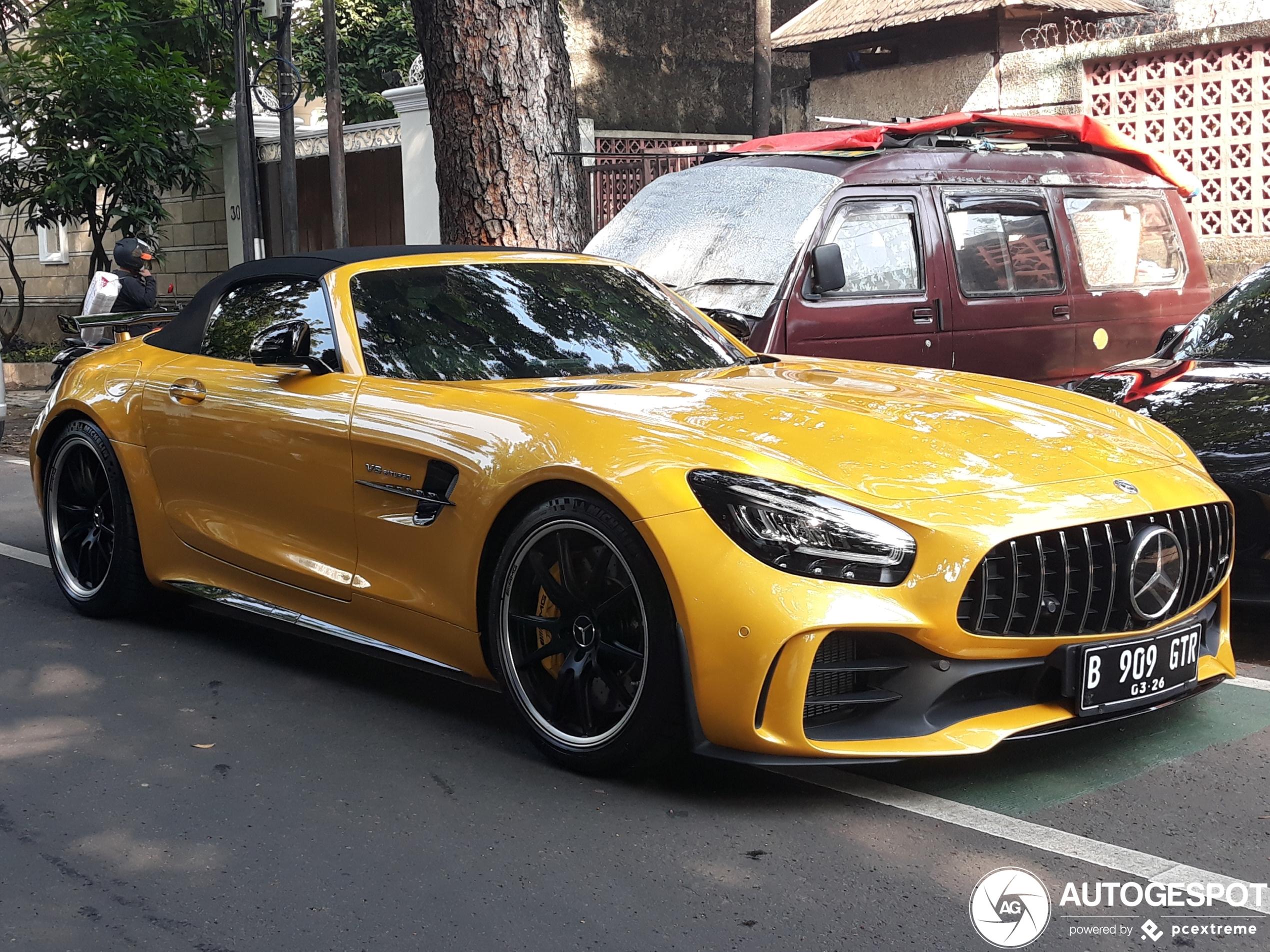 Mercedes-AMGGT R Roadster R190
