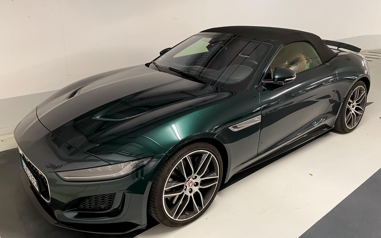 Jaguar F-TYPE P450 Convertible 2020