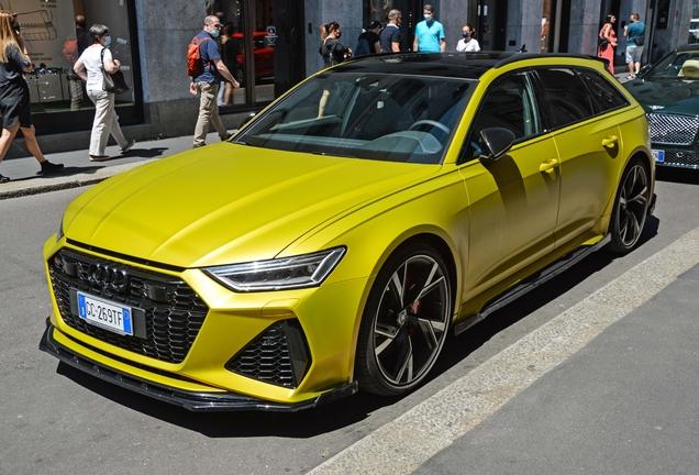 Audi RS6 Avant C8 Maxton Design