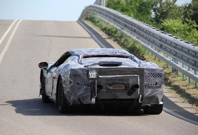 Ferrari 296 GTB Mule